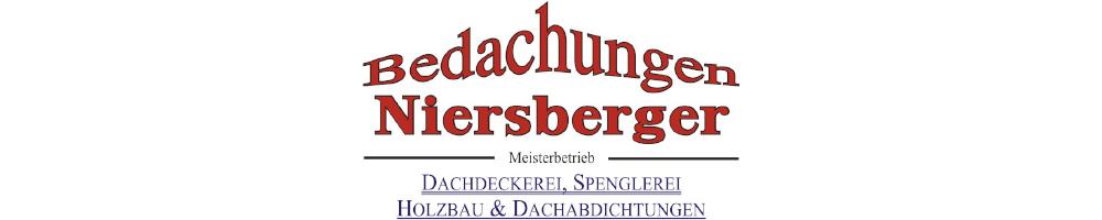 Bedachungen Niersberger